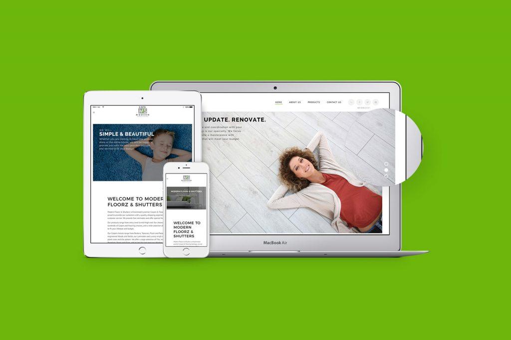 Modern Floorz & Shutters Portfolio Showcase